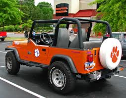 jeep christmas ornament clemson jeep wrangler jeeps clemson tigers and tigers