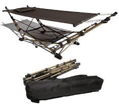 strathwood basics portable folding hammock the green head