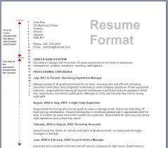 Resuming Sample by 12 Resume Sample Format For Job Easy Resume Samples Resume Format