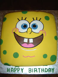 spongebob cake ideas spongebob squarepants birthday cake cakecentral
