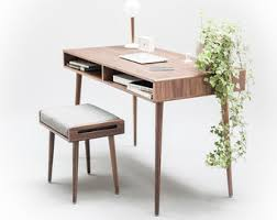 Indie Desk Hq Solid Wood Furniture By Habitables On Etsy