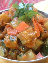 cuisine indienne vegetarienne recette indienne courgettes aux épices cuisine indienne