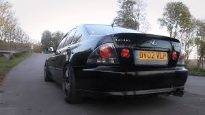 lexus is200 modified lexus is200 megan racing axle back exhaust sound youtube