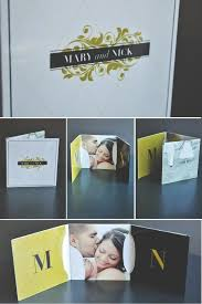 Design Your Own Wedding Program Tri Fold Cd Sleeve Packagin Photography Pinterest