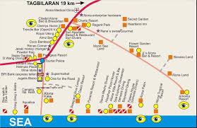 alona resort map map alona detail a