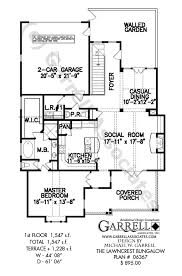 bungalow house plans with front porch lawncrest bungalow house plan craftsman house plans