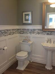 bathroom wainscoting ideas design wainscoting in bathroom bathroom faucets home depot