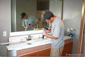 making frame for bathroom mirror home design mannahatta us