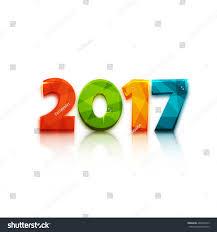 happy new year 2017 text design stock vector 466078313