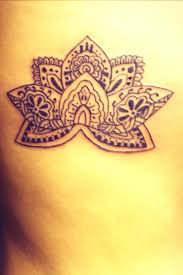 tribal lotus flower tattoo 2015