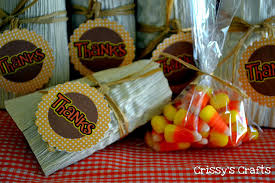 make corn husk thanksgiving favors dollar store crafts