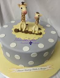 giraffe baby shower cake monika bakes custom cakes portfolio weddings 3d cakes birthdays