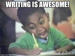 Writing Meme - writing kid meme generator imgflip