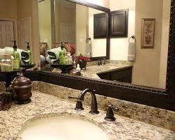 bathroom mirrors houston white framed bathroom mirrors intended for decor 11 sakuraclinic