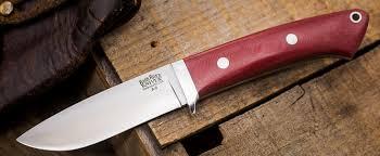 Bark River Kitchen Knives Buy Bark River Knives Classic Drop Point Hunter Ships Free