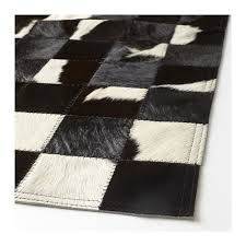 Are Cowhide Rugs Durable Kornum Cow Hide Ikea The Cowhide Is Naturally Durable And Will