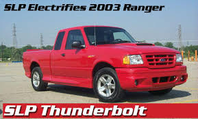 pickuptruck com the ford ranger thunderbolt