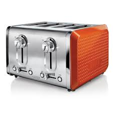 Amazon 4 Slice Toaster Bella Dots Collection 4 Slice Toaster Orange Bella Http Www