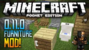 Minecraft Furniture Ideas Pe Furniture Mod In 0 11 0 How To Install Beta Minecraft Pocket