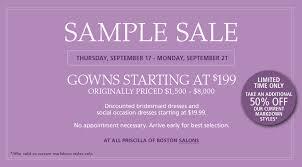 wedding dress sle sales sale alert priscilla of boston bridal sle sale aylee bits