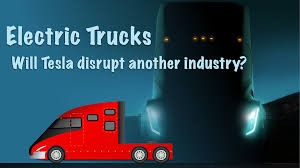 truck tesla will tesla disrupt long haul trucking tesla motors nasdaq tsla
