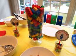 Centerpieces Birthday Tables Ideas by 35 Lego Theme Party Table Decoration Ideas