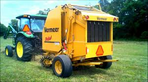 round baler vermeer 5410 youtube