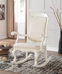 Wooden Rocking Chair Dimensions Amazon Com Acme Furniture 59388 Sharan Rocking Chair Antique
