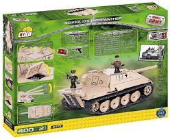 lego army tank sd kfz 173 jagdpanther small army ww2 cobi toys internet shop