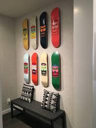 Skateboard Shelf Unique Wall Art Ideas Archives Ilevel