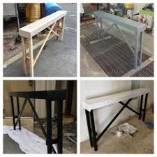 thin sofa table diy thin sofa table sofa tables tutorials and living rooms