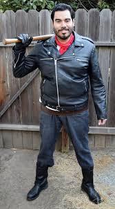 Walking Dead Halloween Costumes Negan Costume Walking Dead Carbon Costume Boards