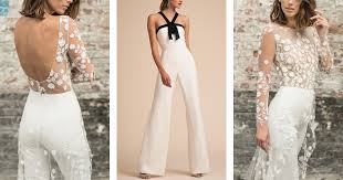 wedding jumpsuit how to incorporate a wedding jumpsuit into your bridal look