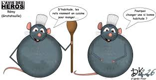 humour cuisine l avis des héros rémy de ratatouille humeurs