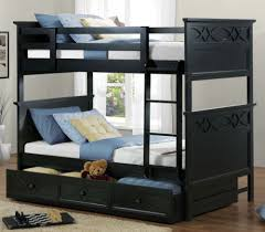 3 Bed Bunk Bed Smart 3 Bunk Bed Set For Small Space Lostcoastshuttle Bedding Set