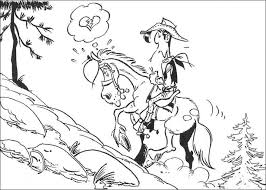 lucky luke u0027 colouring pages coloring