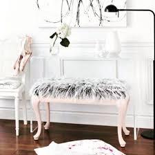 plush fur furniture is a cozy new interior design trend fyf
