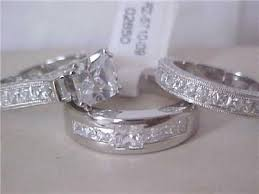 used wedding rings 3 wedding ring sets the wedding specialiststhe wedding specialists