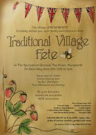 i would love to go to an english village fete one day