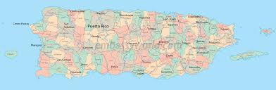 Map Caribbean Sea by Map Of Puerto Rico Caribbean Sea