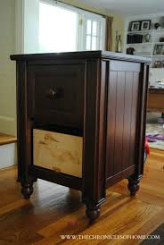how to paint a nightstand with the finish max hvlp sprayer homeright