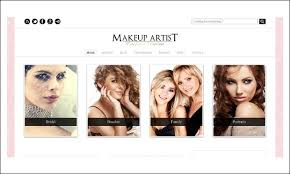 for makeup artists 5 responsive themes for makeup artists