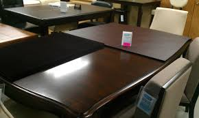 dining room table pads glass table top protector pads home table decoration