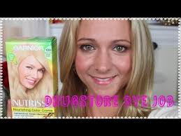 platunum hair dye over the counter drugstore dye job how to dye your hair blonde at home
