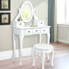 Antique White Vanity Set Desk Antique White Computer Desk Armoire Medium Image For White