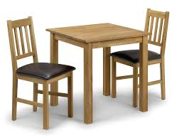table and 2 chairs set bowen coxmoor 75cm american white oak dining table and 2 chairs set