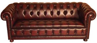 Leather Button Sofa Leather Sofa With Buttons Apartement Minimalist Buttoned