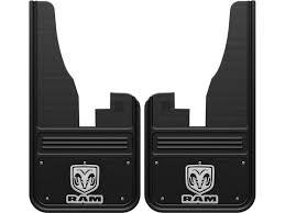 dodge ram mud flaps truck hardware 2009 2018 ram vertical logo black wrap front mud