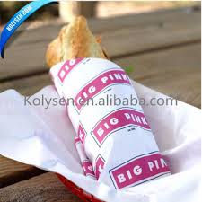 burger wrapping paper kolysen customized food burger wrapping paper sandwich packaging