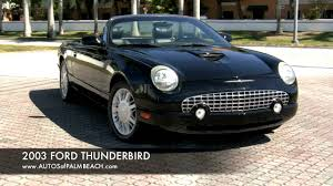 2003 ford thunderbird convertible a2595 youtube